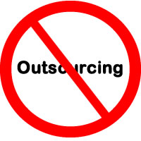 Website outsourcing is bad for you and bad for America